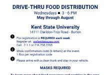 drive thru food distribution