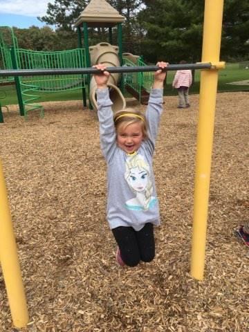 Student hanging around on the playground