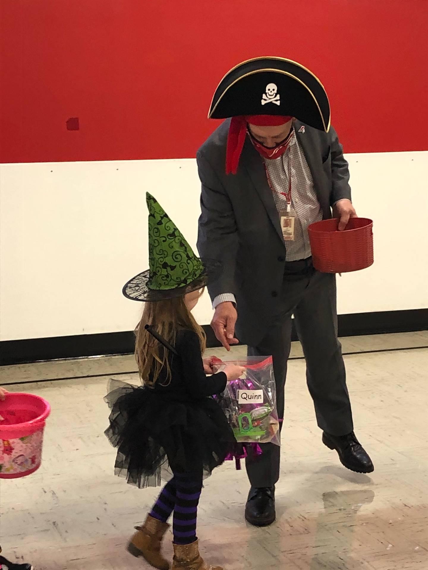 Perry Preschool students enjoying their Halloween Parade!