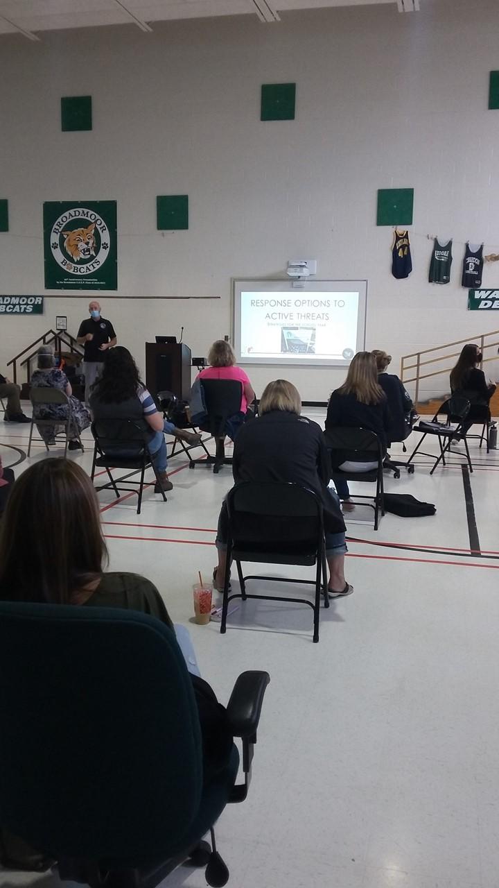 Professional Development Day at Broadmoor School
