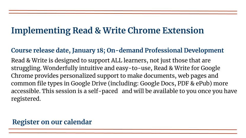 Implementing Read & Write Chrome Extension