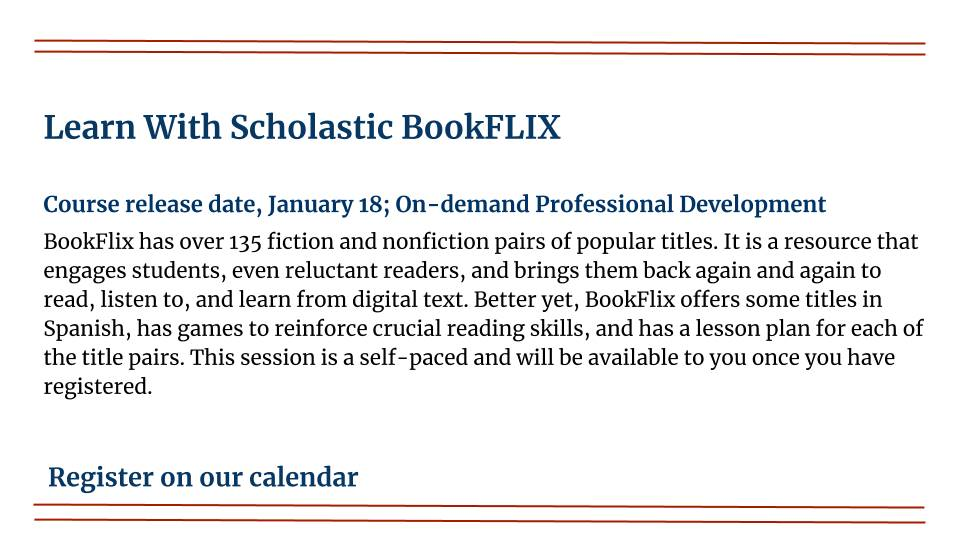 Learn With Scholastic BookFLIX