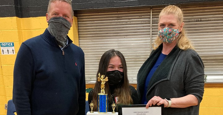 Congratulations Lily Waters!! Lily is the winner of the 2021 Lake-Geauga County Spelling Bee!