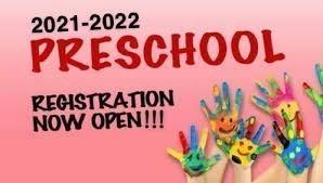 2021-2022 Preschool Registration