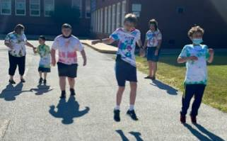 SAIL students participated in field day  on their last day of school.
