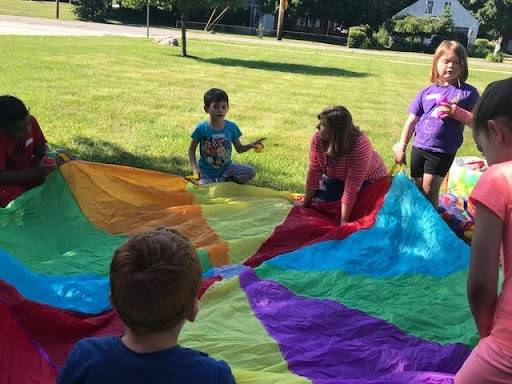 Elementary students are sharing their family traditions during an exercise for Arts & Culture week.