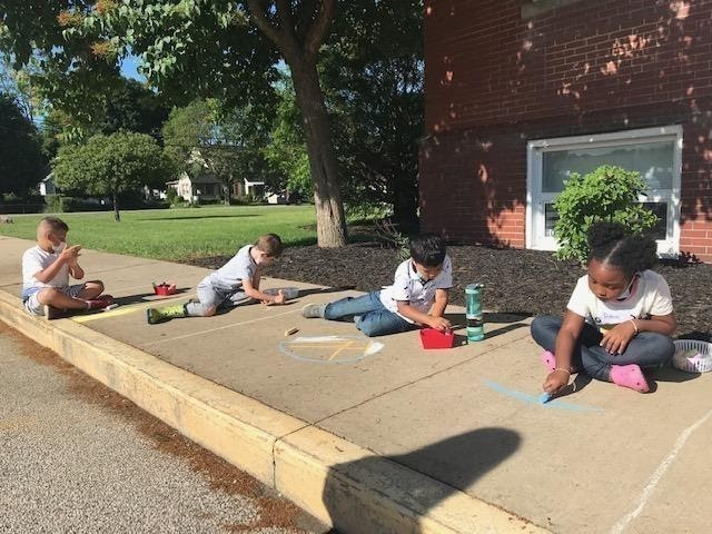 Summer Side Kick elementary and middle school students are busy at work creating masterpieces during Arts & Culture week.