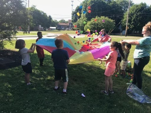 Summer Side Kick elementary students are sharing their family traditions during an exercise for Arts & Culture Week.
