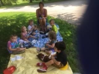 The Preschoolers had a teddy bear picnic!